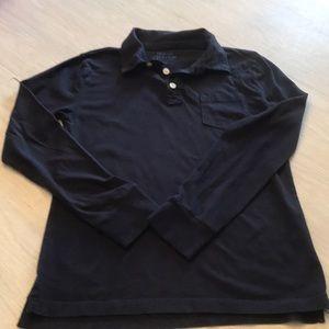 J Crew Crewcuts Long Sleeve Polo Shirt